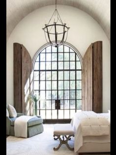 Modern French Country Master Bedroom Suite