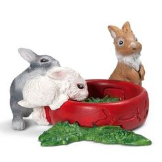 Standing  Rabbit by Schleich//13672//Easter//bunny  SO CUTE//RETIRED