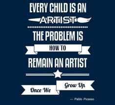 Yetee - Every Child is an Artist - Picasso tshirt