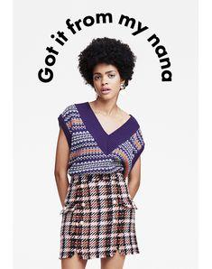 Got it from my nana Layout Online, Email Newsletter Design, Email Design Inspiration, Fashion Banner, Email Marketing Design, Fashion Graphic Design, Creative Instagram Stories, Fashion Branding, Editorial Design