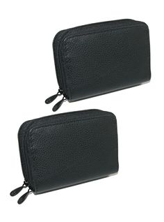 Buxton Womens Leather Mini Accordion Wizard Wallet (Pack of 2)