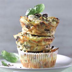 Muffins Weight Watchers, Menu Weight Watchers, Weigth Watchers, Healthy Treats, Feta, Low Carb, Foodies, Lunch, Breakfast