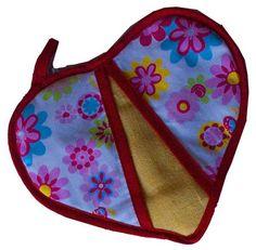 Cocina - Apassionada - Diseño Textil de utilitarios para el hogar  Agarradera  Corazon  encontrala en www.apasionada.com.uy