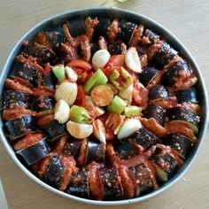 Leaves from my recipe book: Eggplant Kebab (baked) - Dinner Recipe Different Vegetables, Fresh Fruits And Vegetables, Meat Recipes, Dinner Recipes, Breakfast Recipes, Turkish Recipes, Italian Recipes, Ethnic Recipes, Kebab Meat