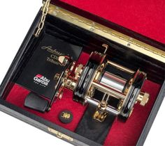 Abu Garcia launch a limited edition, 5500CDL 40th anniversary fishing reel for Abu Garcia enthusiasts. http://www.worldseafishing.com/columns/new-tackle/abu-ambassadeur-5500cdl-multiplier-limited-edition/?utm_campaign=coschedule&utm_source=pinterest&utm_medium=World%20Sea%20(World%20Sea%20Fishing%20Articles)&utm_content=Abu%20Ambassadeur%205500CDL%20Limited%20Edition