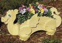 Flower Pot Dragon Plan from Meisel Hardware Specialties Woodworking Patterns, Woodworking Projects, Flower Pots, Flowers, Wood Planters, Craft Items, Yard Art, Garden Bridge, Wood Crafts