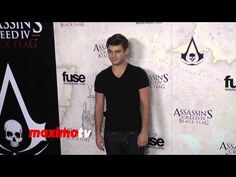 Garrett Clayton Assassin's Creed IV Black Flag Launch Party Hosted by El...