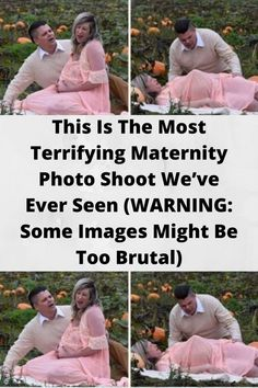 This Is The Most #Terrifying Maternity #Photo Shoot We've Ever Seen (WARNING: Some Images Might Be Too #Brutal)