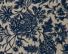 Custom Drapes Floral Drapes Pinch Pleat Curtains by TheodoraStudio