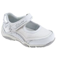 Chicco Brigitta Toddler Shoes - White, Size 8.5