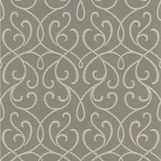 56 sq. ft. Alouette Grey Mod Swirl Wallpaper, DL30447 at The Home Depot - Mobile