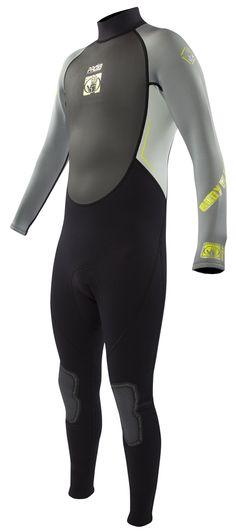 Body Glove Men s Pro 3 3 2mm Full Wetsuit - Black Grey Lime fee083dbf