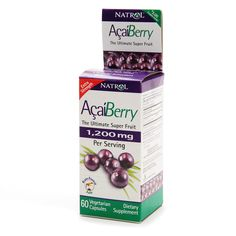 Natrol Acai Berry 1200 mg Dietary Supplement Capsules | Walgreens