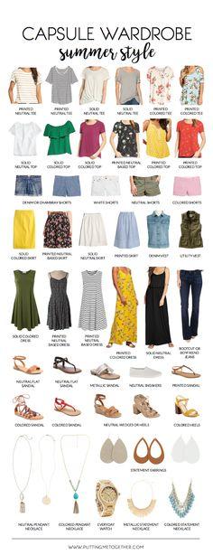 My Summer Wardrobe Plan 2017 | Putting Me Together | Bloglovin'