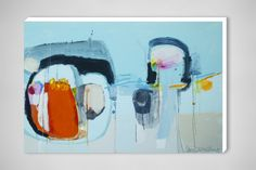 """Claire Desjardins; Acrylic, 2012, Painting """"When In Doubt"""""""