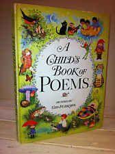 A CHILD'S BOOK OF POEMS~ Gyo Fujikawa~ 1977 Printing~ Hardcover