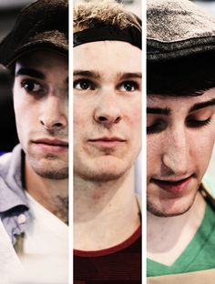 Corey Cott, Ryan Steele, and Ben Fankhauser of Newsies. so fantastic! my 3 favourites. Broadway Theatre, Musical Theatre, Ryan Steele, Michael Rios, Ben Fankhauser, Tomorrow News, Jack Kelly, Seize The Days, I Love My Son