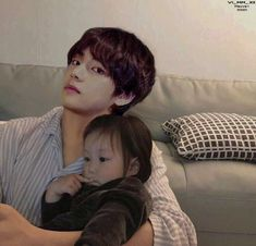 Cute Asian Babies, Korean Babies, Bts Girl, Bts Boys, Bts Taehyung, Bts Jimin, Korean Boys Ulzzang, Kpop Couples, Korean Couple