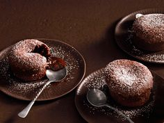 Step up your baking game this Valentine's Day with molten lava cake.
