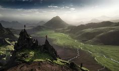 Iceland - Distant Wonderland by Max Rive