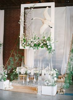 White + green wedding ideas from The Cream