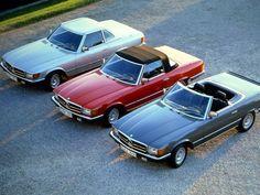 Это один из великих родстеров всех времен, являющийся частью знаменитой серии Mercedes-Benz R107, которая выпускалась с 1971 по 1989 г. Модель 380 SL была представлена в 1980 г.