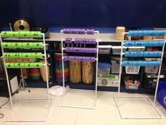 Rhythm Abacus: Such a great way to practice rhythm writing and reading! Post also includes lots of center ideas!