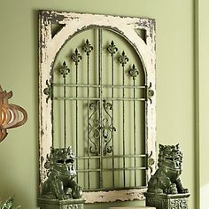 Remy Fleur-De-Lis Wall Gate from Through the Country Door®