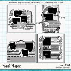 Cindy's Layered Templates - Set 120 by Cindy Schneider