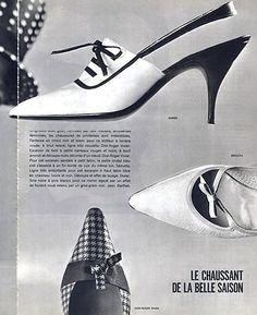 Roger Vivier for Dior 1963 #rogerviviervintage