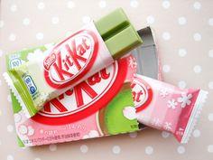 Green Tea Cherry Blossom Kit Kat's (Japan)