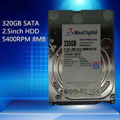 [Visit to Buy] 2.5inch HDD 320GB 5400Rpm 8M Buff SATA Internal Hard Disk Drive For Laptop Notebook MaxDigital/MD320GB SATA 2.5inch #Advertisement