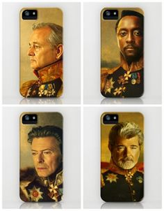 Turn your favorite celeb into a Russian General on your iPhone or Samsung S4. So cool!
