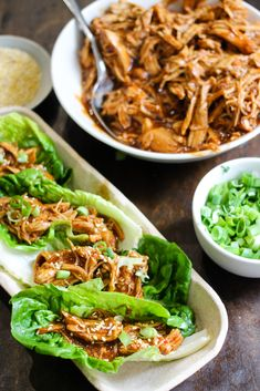Instant Pot Honey Sesame Chicken Lettuce Wraps are a delicious healthy meal that cooks in just 10 minutes! Simple to make, family friendly, and so tasty! Instant Pot, Honey Sesame Chicken, Eating Vegetables, Veggies, Chicken Lettuce Wraps, Cooker Recipes, Healthy Recipes, Easy Recipes, Healthy Food