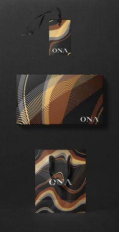 Ona fashion curators brand identity by 303 Design Squadron Logo Design, Graphic Design Print, Brand Identity Design, Graphic Design Inspiration, Graphic Prints, Typography Design, Daily Inspiration, Logo Branding, 2 Logo