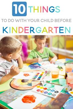 Are you looking to prepare your preschooler for Kindergarten? Here are ten things that you can do right now that will help your child be ready for school! Before Kindergarten, Kindergarten Readiness, School Readiness, Free Preschool, Preschool Activities, Children Activities, Toddler Fine Motor Activities, Early Childhood Centre, Creative Curriculum