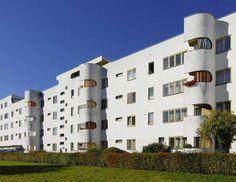 "White Barge ""Battleship"" - By Hans Scharoun, Siemens City, Berlin"