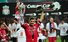 Gerrard won a host of major honours with Liverpool although never won the Premier League