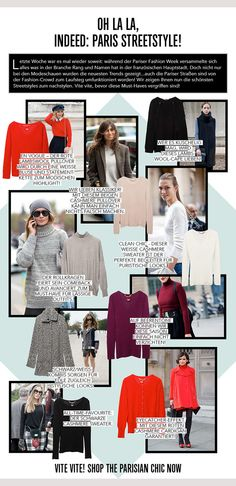 Oh La La, indeed: Paris Streetstyle! SHOP THE MUST-HAVES: www.dear-cashmere.com/shop  #fashion #aw13 #dc #dear #cashmere #dearcashmere #streetstyle #online #street #style #pfw #fashionweek #paris #france #parisian #chic #red #beige #black #grey #berry #merino #lambswool #vneck #pullover #sweater #jumper #cape #turtleneck #cardigan