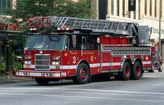 Chicago Fire Dept. Ladder 3 ★。☆。JpM ENTERTAINMENT ☆。★。