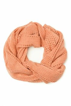 Eternity Scarf in Coral