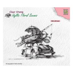 Tampon clear transparent scrapbooking Nellie Snellen VOITURE VACANCES 038 Stamps By Chloe, Electronic Gift Cards, Tampons Transparents, Scrapbooking, Home And Deco, Simon Says Stamp, Clear Stamps, Choices, Scene