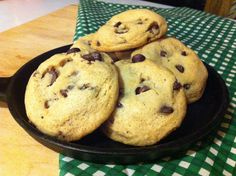 sugarless/eggless chocolate chip cookies
