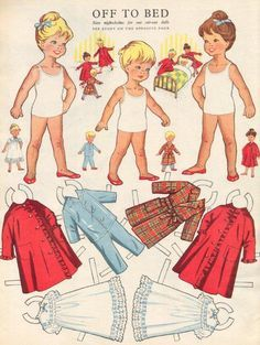 nora and Tilly paperdolls - Google Search