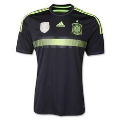 $90 Spain 2014 Away Soccer Jersey