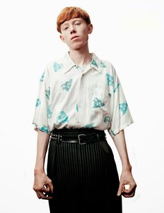 King Krule lensed by Willy Vanderperre and styled by Alister Mackie with pieces from Lanvin, Louis Vuitton, Marc Jacobs and more, for the latest coverstory of Another Man magazine.