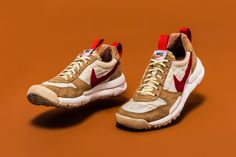 "$3,000 USD Tom Sachs x Swoosh ""Mars Yard"" sneakers."