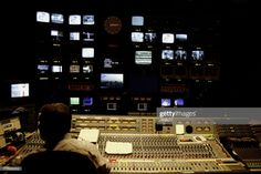 View top-quality stock photos of Television Control Room. Find premium, high-resolution stock photography at Getty Images. Radios, Sites Like Youtube, Interview, Video Site, Still Image, Motion Graphics, Tv, Childrens Books, Stock Photos