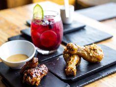 The Great Eastern Food Bar - Restaurant in Johannesburg - EatOut Restaurant Bar, Chicken Wings, Vegetarian, Breakfast, Places, Food, Breakfast Cafe, Essen, Yemek