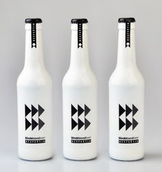 Homebrew labels by Slovakian designer Martin Fek | 34 Coolest Food Packaging Designs Of 2012